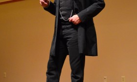 Ken Johnston as Abraham Lincoln