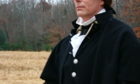 Ken Johnston as General Washington